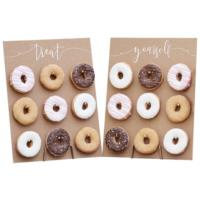 Donut Wall Cake Rustic Country