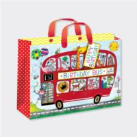 Gift Bag - Bus of Animals - Large