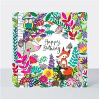 Jigsaw Card - Woodland