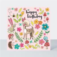 Jigsaw Card - Woodland Friends