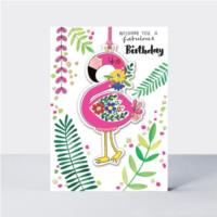 Marigold - Fabulous Birthday Flamingo