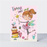 Thank You - Fairy & Cake