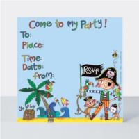 Party Invite Pirate