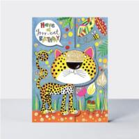 Wild Things - Grrr-eat Birthday Leopard