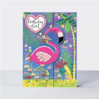 Wild Things - Birthday Girl Flamingo