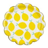 Lemon Large Plates
