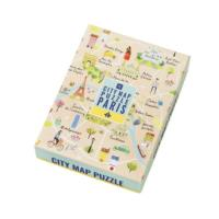 Map Puzzle Paris - 250pcs