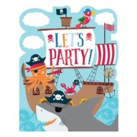 Ahoy Birthday Invitations