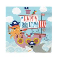 Ahoy Birthday Napkins