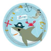 Ahoy Birthday Plates