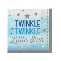 One Little Star Boy Large Napkins