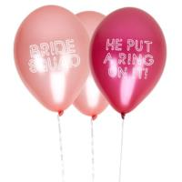 Bride Squad Balloons - He Put a Ring on It