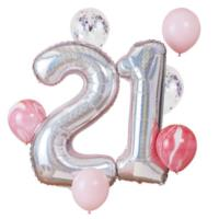 21st Birthday Balloon Bundle