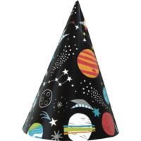 8 Outer Space Party Hat