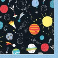 Outer Space Luncheon Napkin