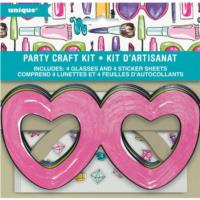 Spa Party Day Heart Glasses Party Craft Kit