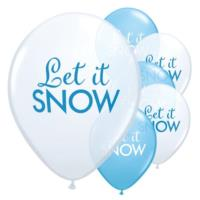 Let It Snow Balloons