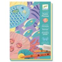 Under The Sea - Felt Brushes Art Kit