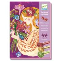 The Scent Of Flowers - Glitter Board Art Kit