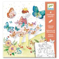 Lady Butterfly Colouring Surprises