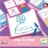 Step By Step Drawing - Josephine And Co