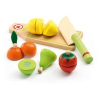 Role Play - Wooden Fruits And Vegetables