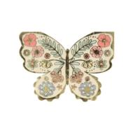 Floral Butterfly Napkins