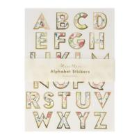 English Garden Alphabet Sticker Sheets