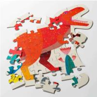 Party Dinosaur T-Rex Puzzle - 52pcs