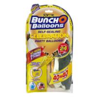 Bunch O Balloons Party Refill Mixed Pack - Black/Gold/White