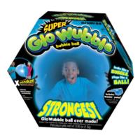Glo Super Wubble Ball w/pump - Assorted Colours