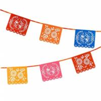 Boho Paper Rectangle Bunting