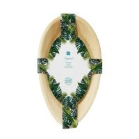 Tropical Fiesta Palm Leaf Oval Platter