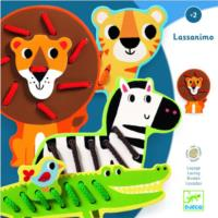Zoo Animals Lassanimo Lacing Toy