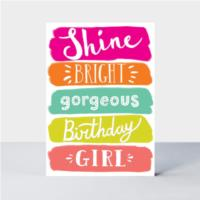 Birthday Shine Bright  Card