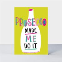 Birthday Prosecco  Card