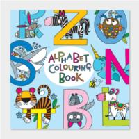 Alphabet Colouring Book