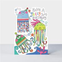 Jelly good Birthday Jelly fish  Card