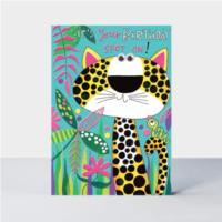 Spot on! Leopard Card
