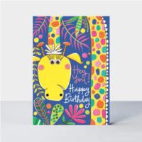 Hey you! Giraffe card