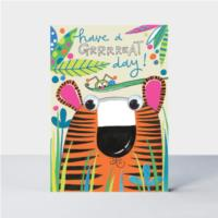 Grrreat day Tiger card