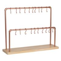 Copper Pretzel Display Stand
