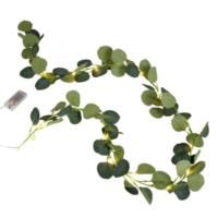 Eucalyptus Garland With Lights