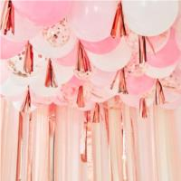 Ceiling Balloons with Tassels