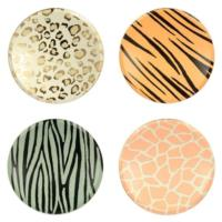 Safari Animal Print Dinner Plates