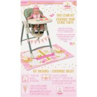 Pink & Gold High Chair Decorating Kit
