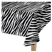 Zebra Print Table cover