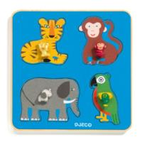 Family Jungle Wooden Puzzle