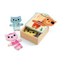 Dress up Wooden Puzzle