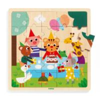 Happy Wooden Tray Puzzle